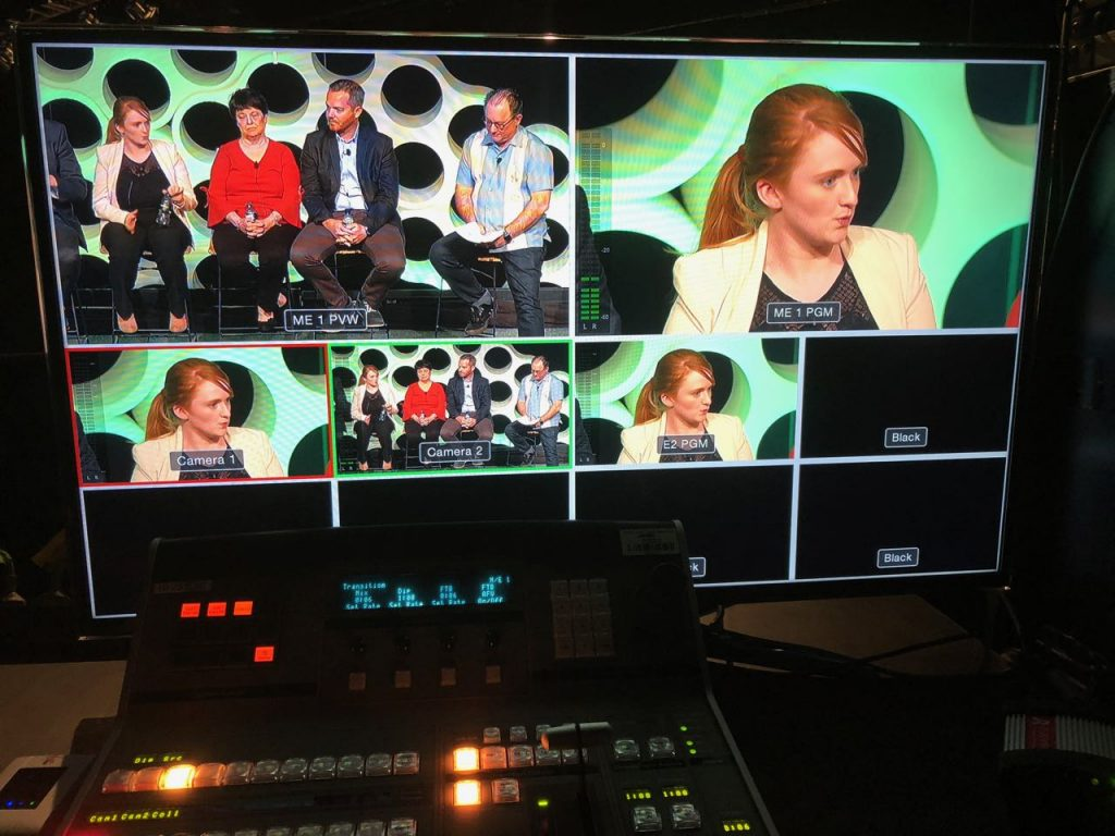 Video webcast in Brisbane