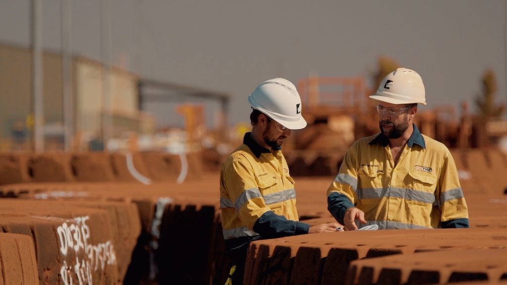 Mining Video production in Queensland